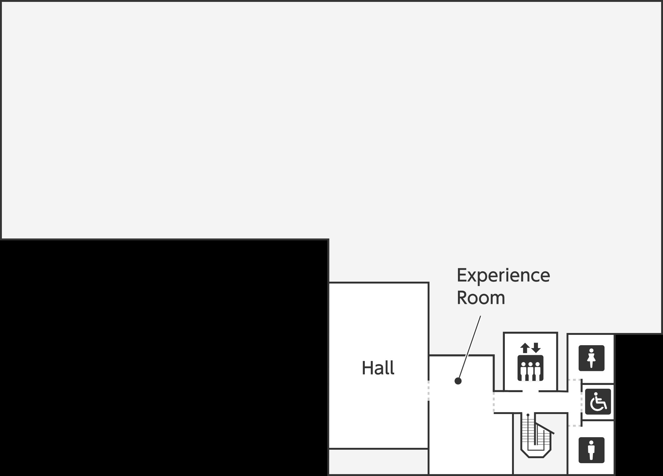 歴史博物館 地下一階のフロアマップです。
