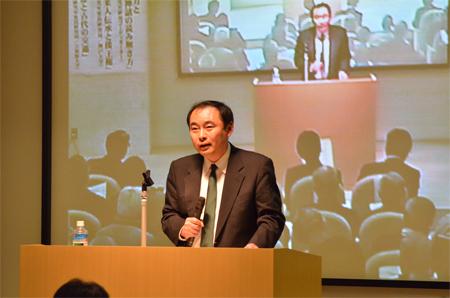 高橋明裕客員研究員の写真