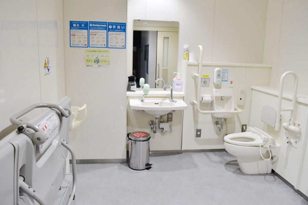 障がい者対応多機能トイレ