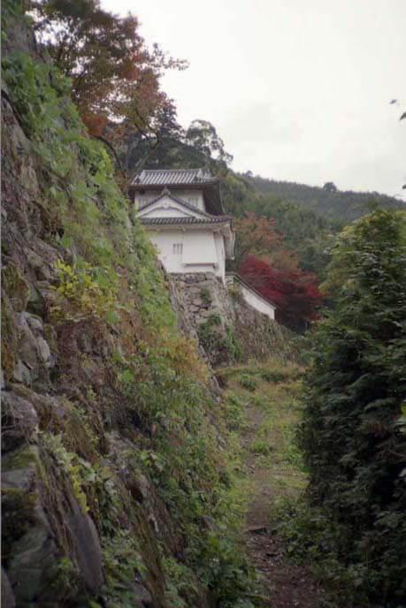 麓城/二ノ丸の西辺の画像