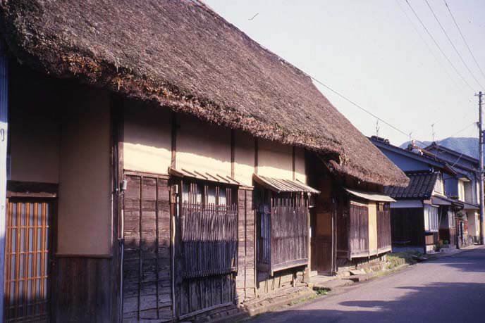 城下の侍屋敷の画像