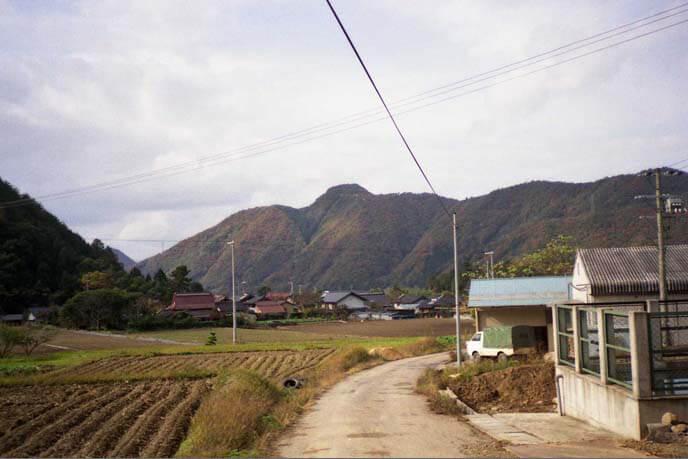 城山(有子山)の南側遠景