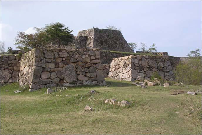 但馬竹田城の画像