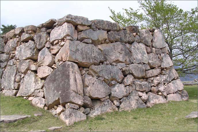 山上/北千畳(きたせんじょう)の石垣の画像