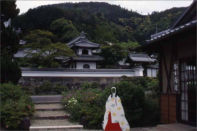 城山の麓の興禅寺(こうぜんじ)の画像