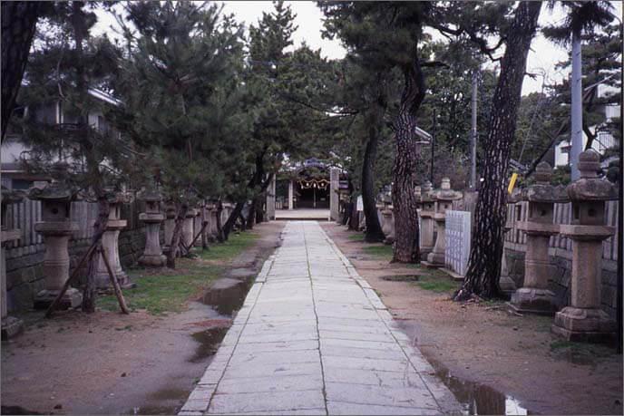 猪名野(いなの)神社の境内の画像