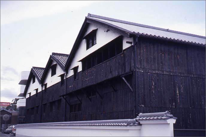 城下町の酒蔵の画像