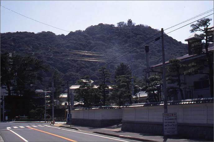 城山を南望した画像