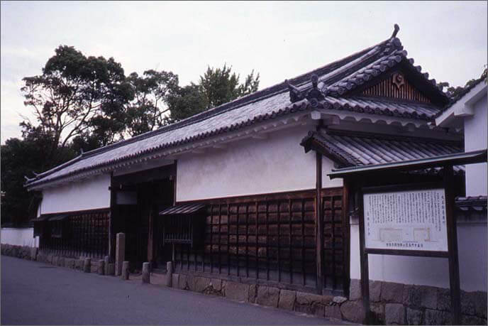 三ノ丸内/大石邸の長屋門の画像