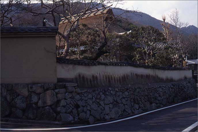 城下に残る侍屋敷の画像
