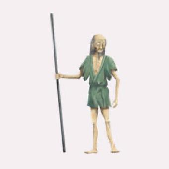 千草の老人のイメージ画像