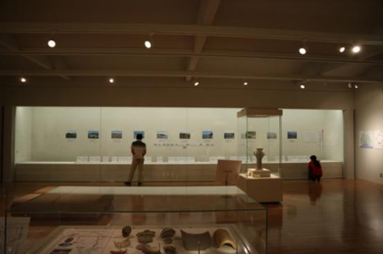 展示室風景の写真