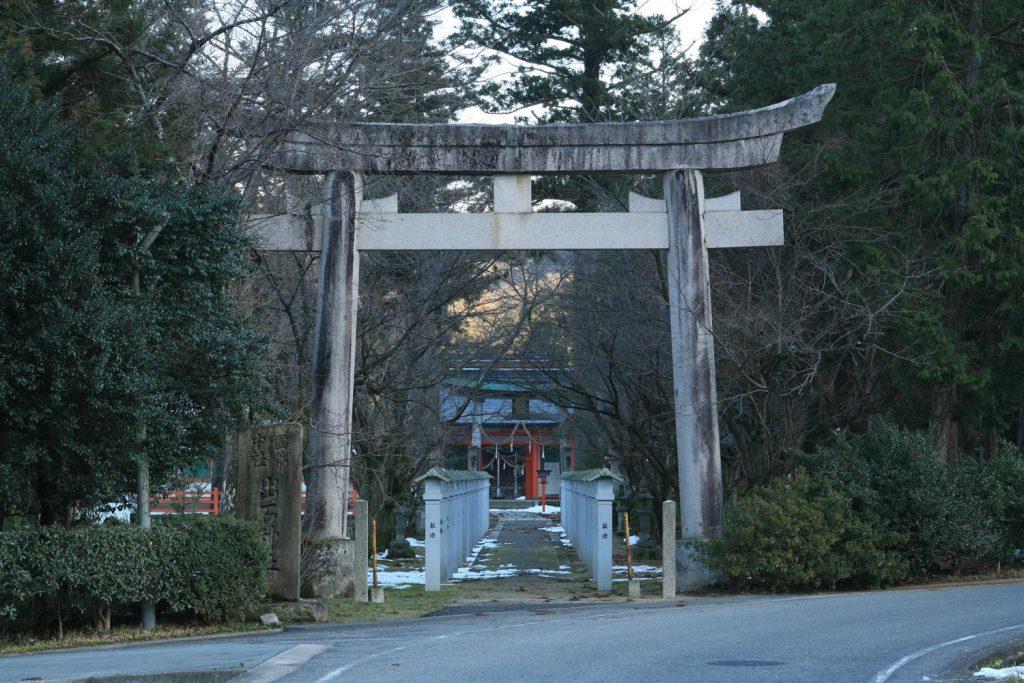 出石神社(鳥居)