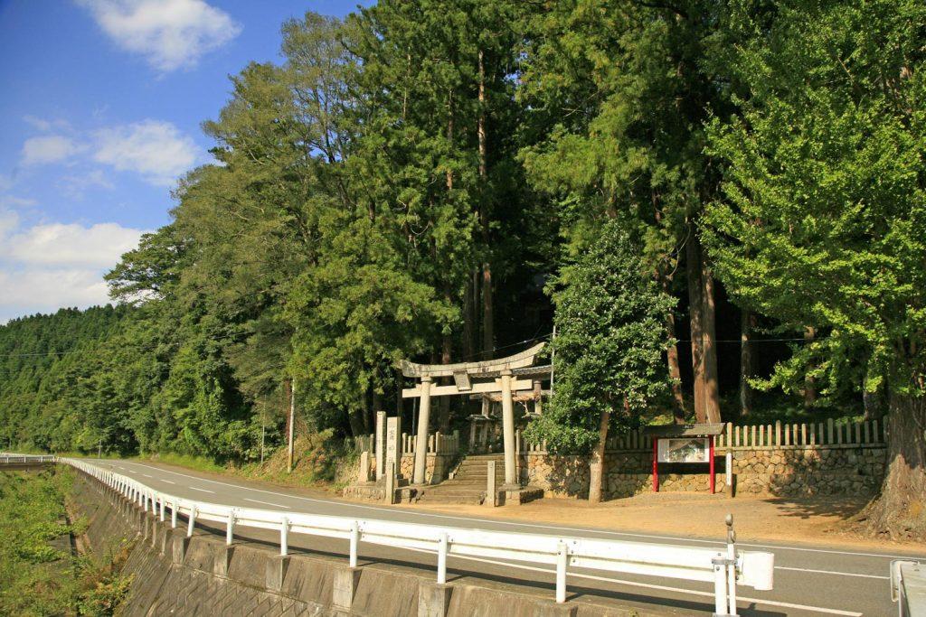 斎神社(鳥居)
