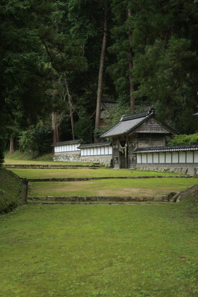 粟鹿神社(門)