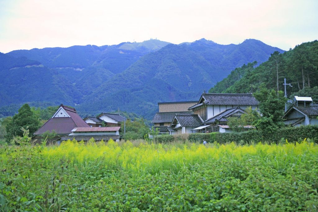 粟鹿山(遠景)