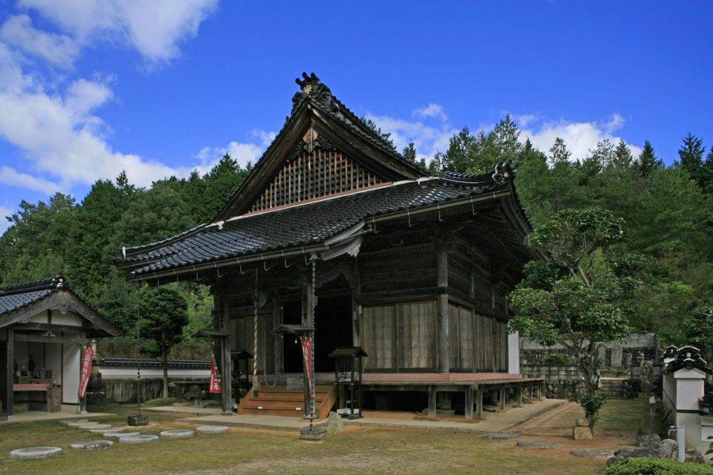 楽音寺(薬師堂)
