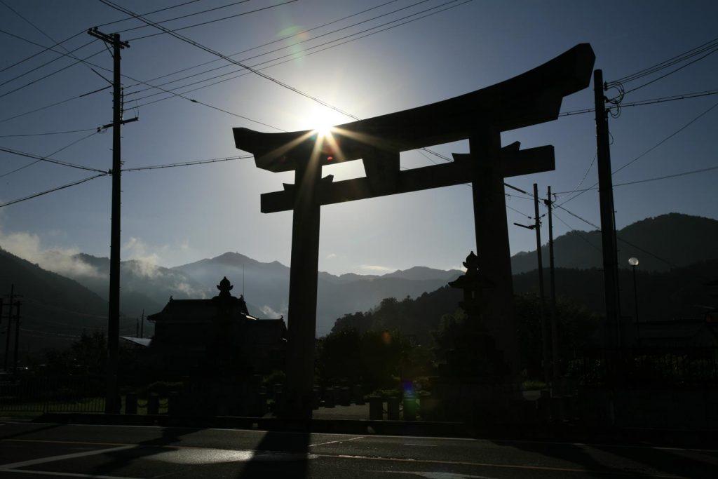 青倉神社の鳥居