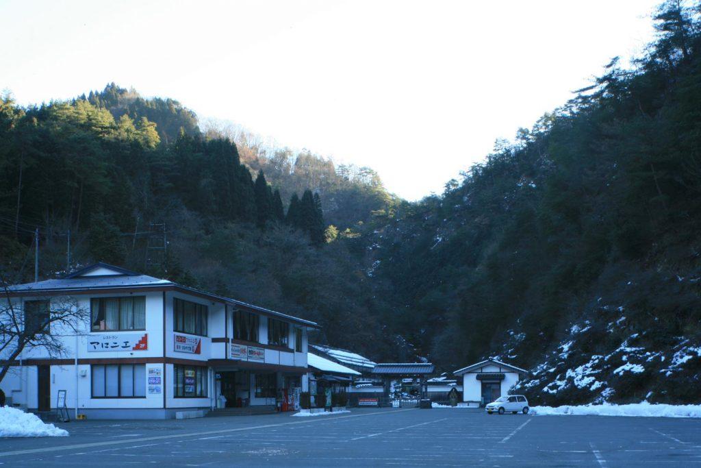生野銀山(遠景)