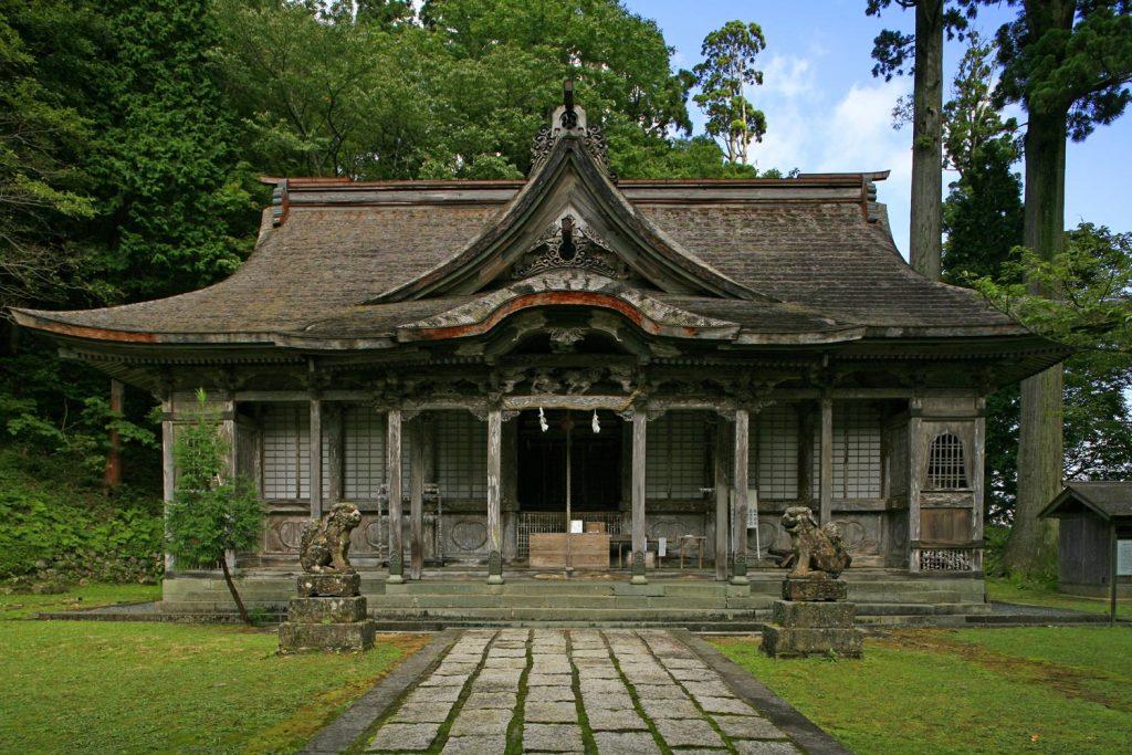 名草神社(本殿)