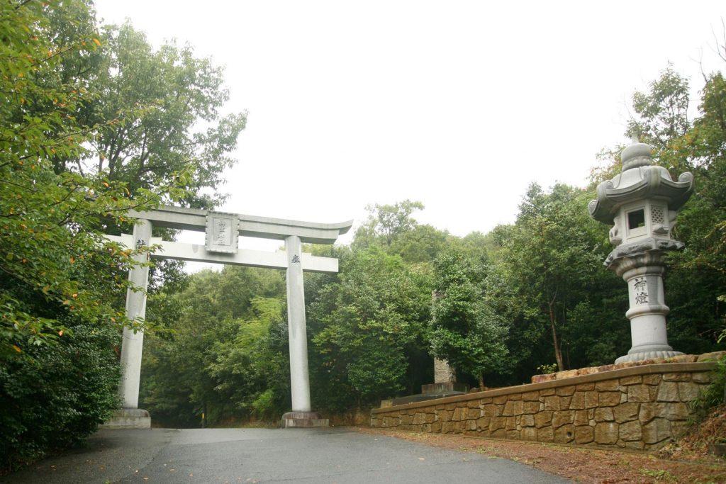神出神社(鳥居)