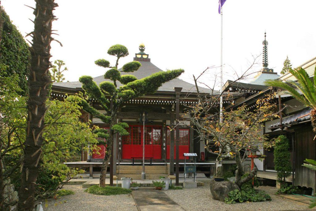 最明寺(境内)