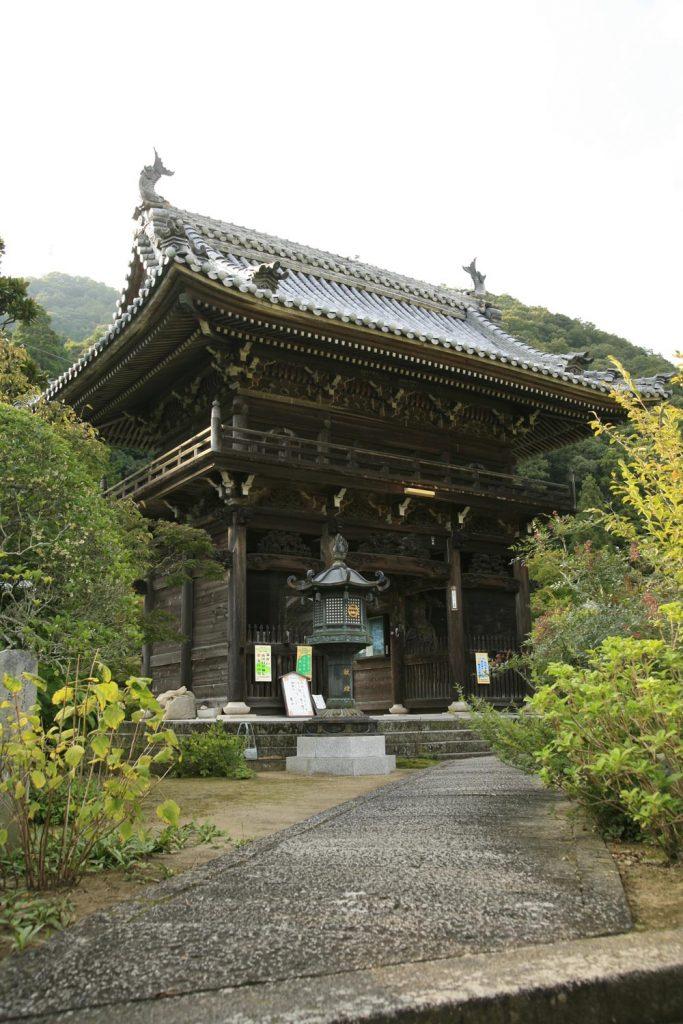 金剛城寺(門)