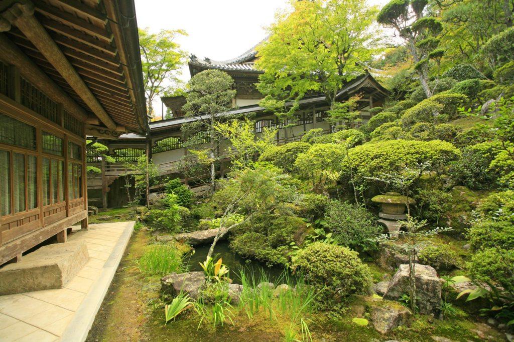 金剛城寺(庭園)