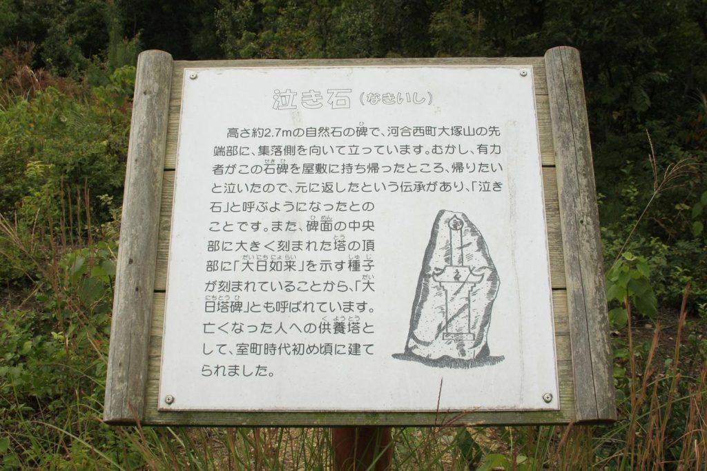 泣き石(石碑)