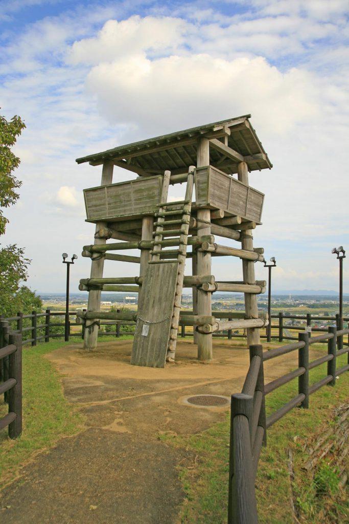 復元された櫓