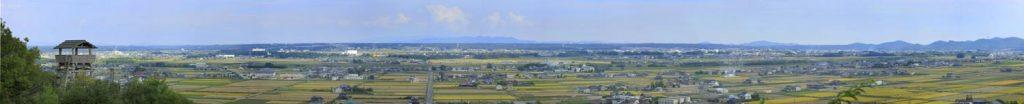 金鑵城跡からの眺望