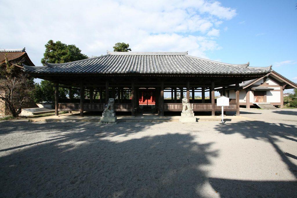 浄谷八幡神社拝殿