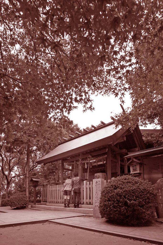 榎列自凝島神社 (拝殿)