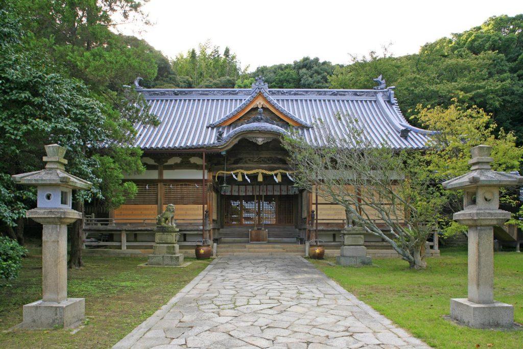 松帆神社(拝殿)