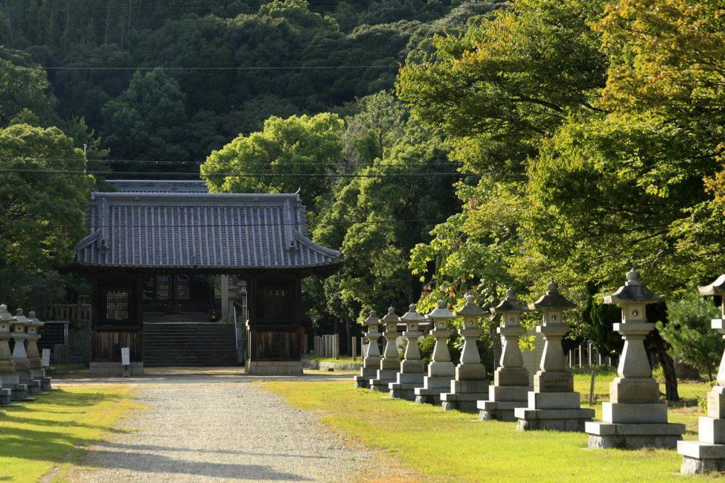 松帆神社(境内)