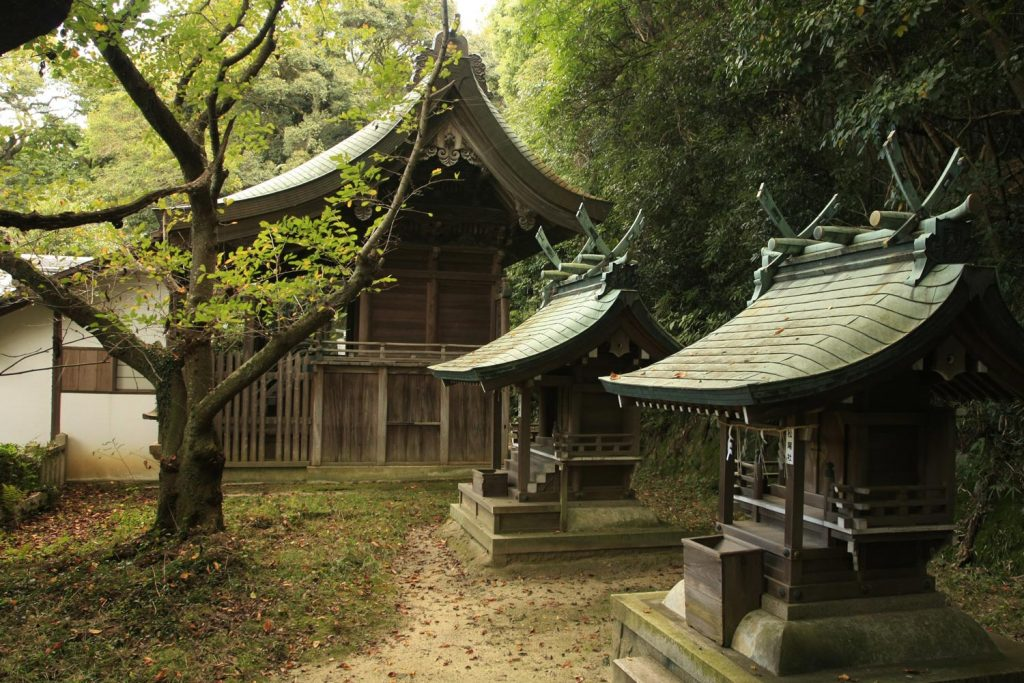 松帆神社(本殿)