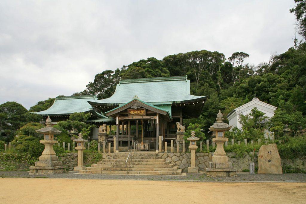 生穂賀茂神社(本殿)