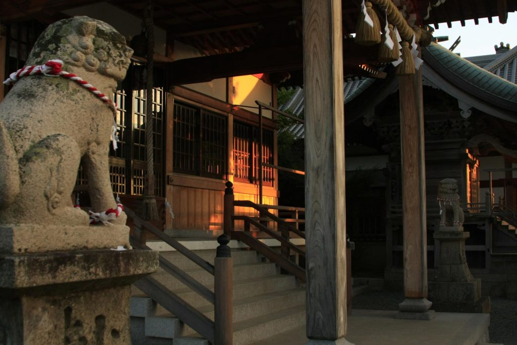 室津八幡神社(本殿)