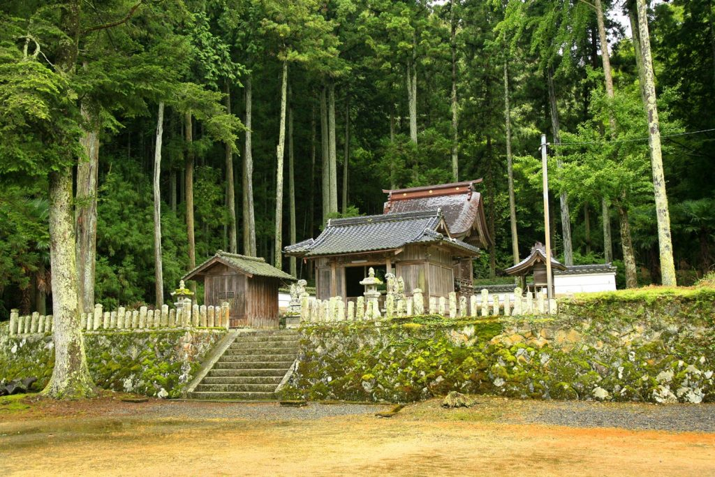 追入神社(本殿)
