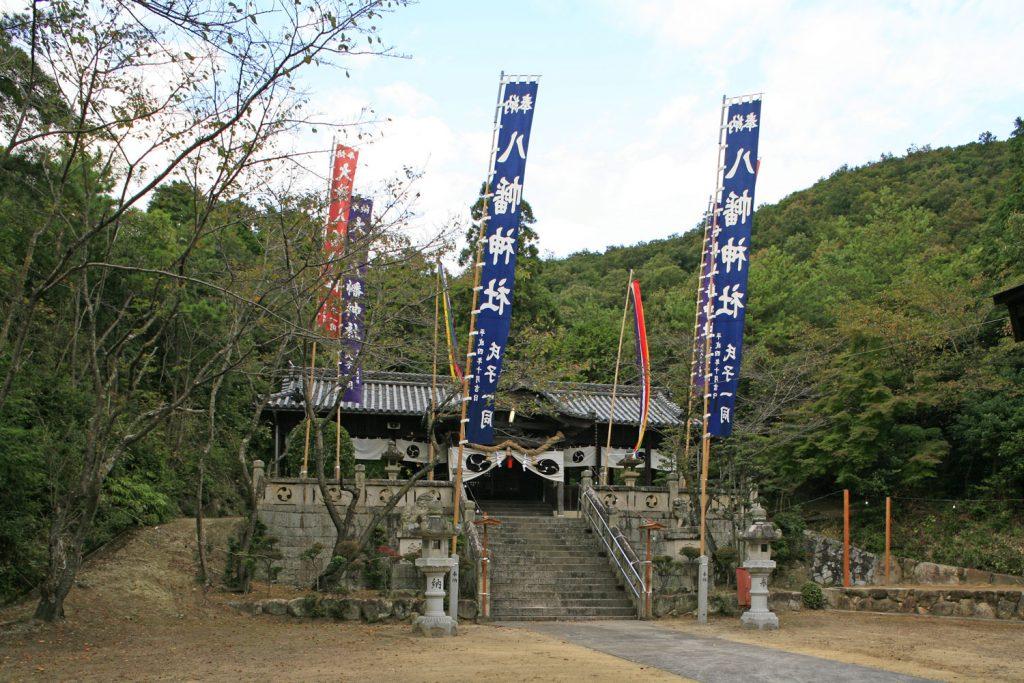 大津八幡神社(境内)