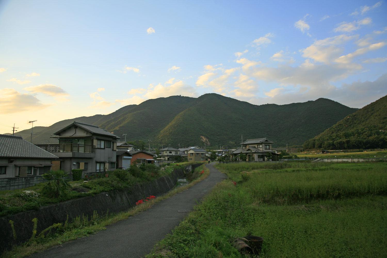 黒鉄山(遠景)