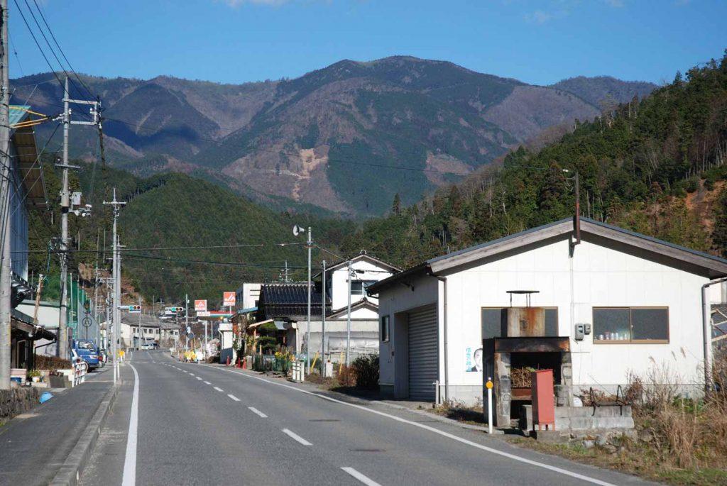 後山(岡山県美作市側から)