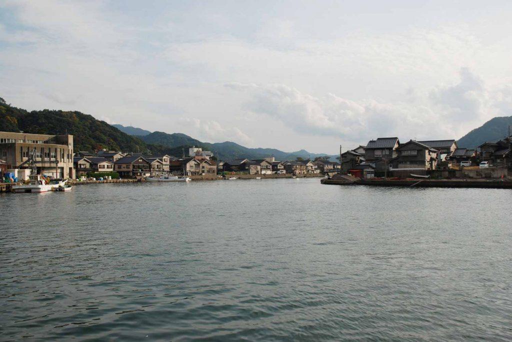 竹野川河口