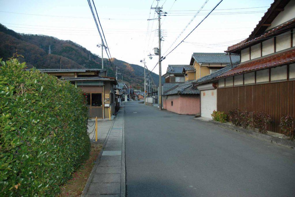 六九谷の因幡街道