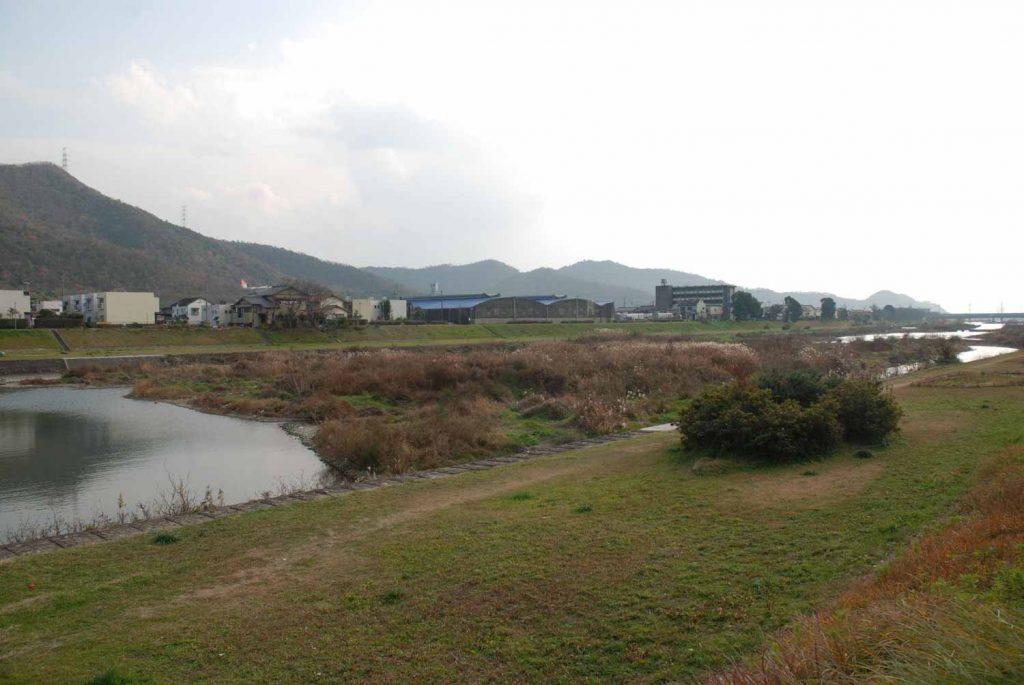 蒲田付近の夢前川