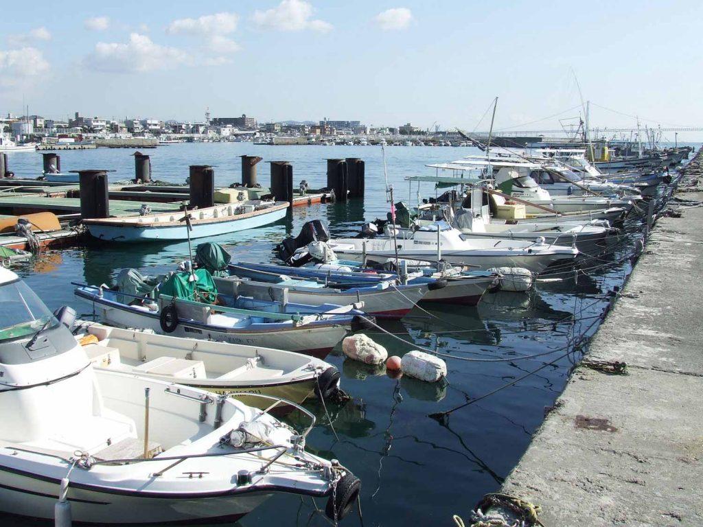 現在の 林崎・松江漁港