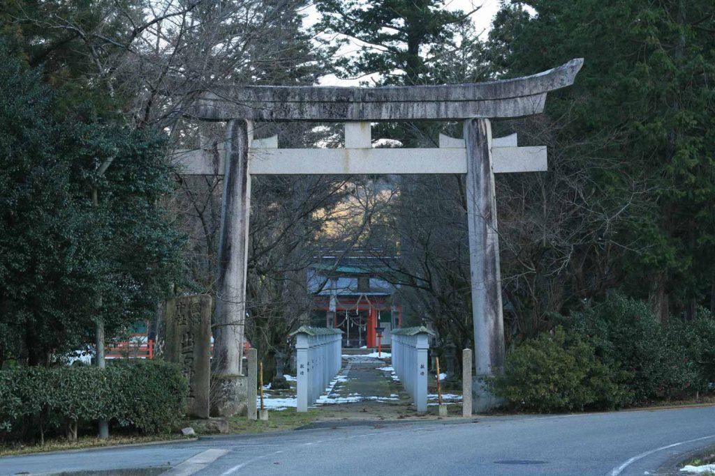 出石神社(鳥居)の写真