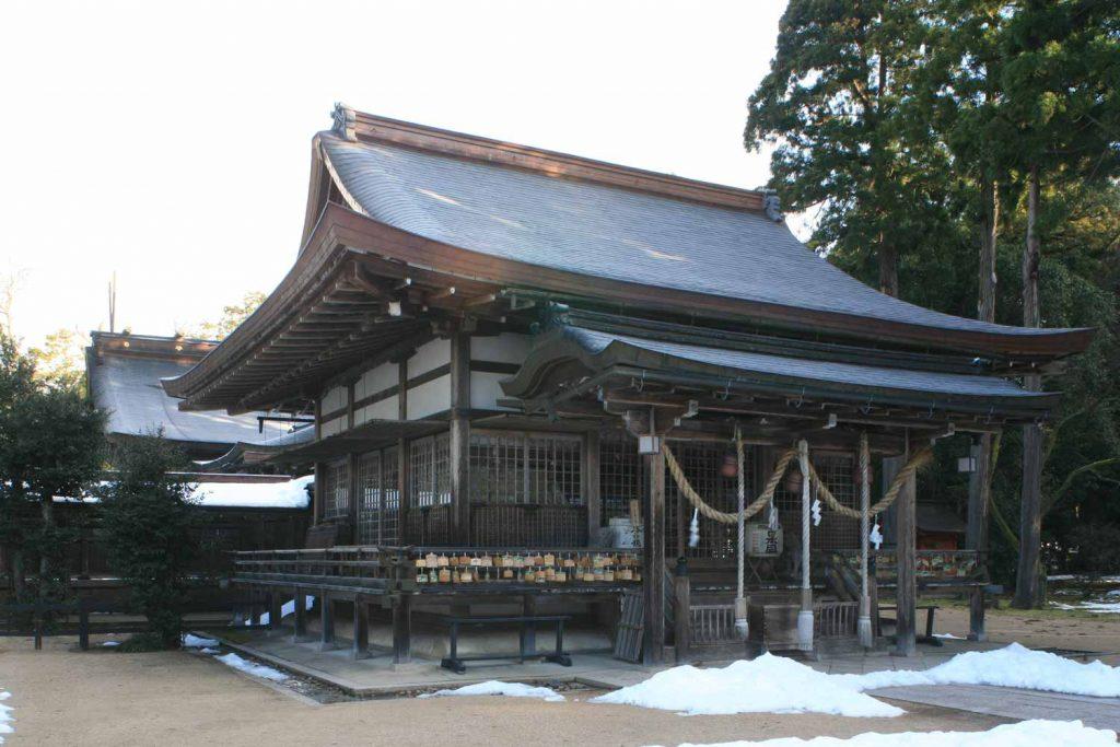 出石神社(拝殿)のイメージ