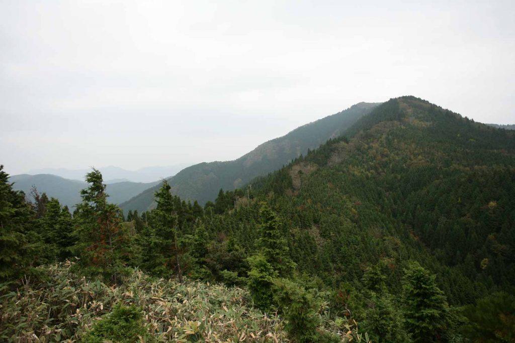 藤無山の写真