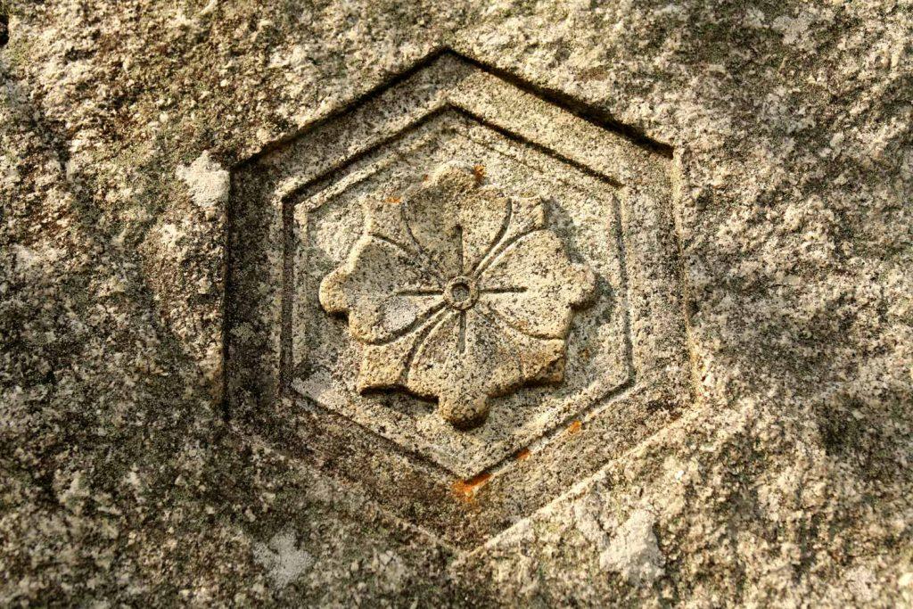 石の扉の紋